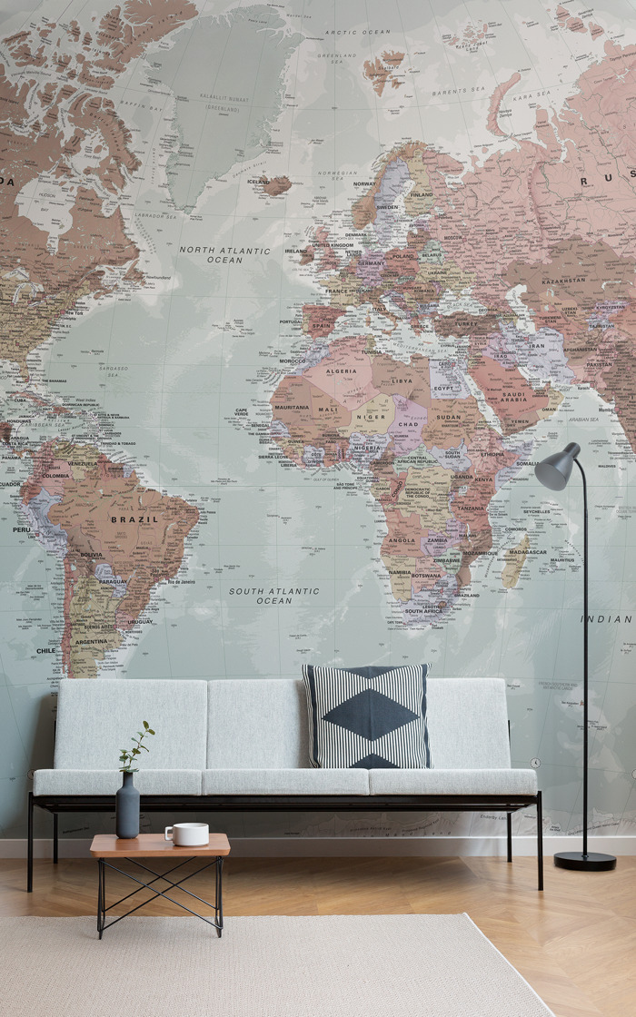 These statement wall murals are the ultimate conversation starter