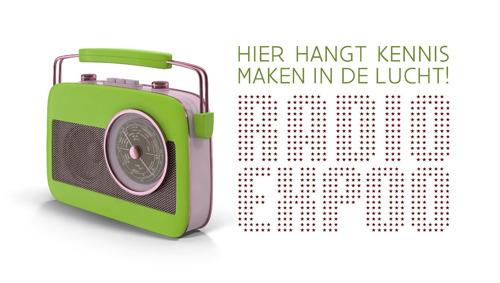 Radio EXPOO. Omdat bijleren ook verfrissend en dynamisch kan zijn.