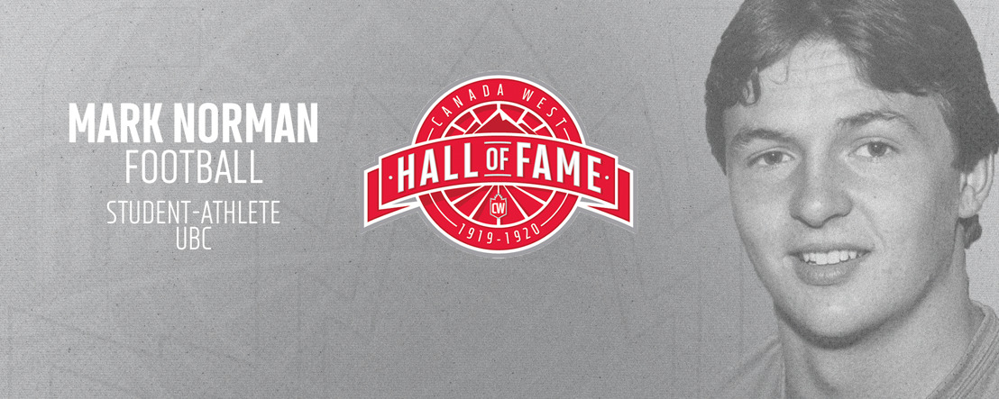 Vanier Cup champion Mark Norman enters CW Hall of Fame
