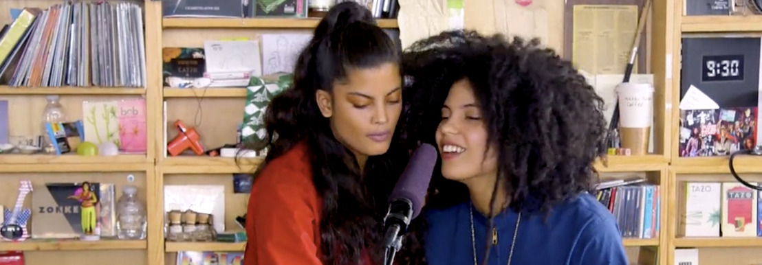 Enjoy Ibeyi's Tiny Desk concert at the comfort of your home