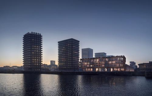 Primeur: Antwerpen krijgt eerste 'zwevende' appartementen van Vlaanderen