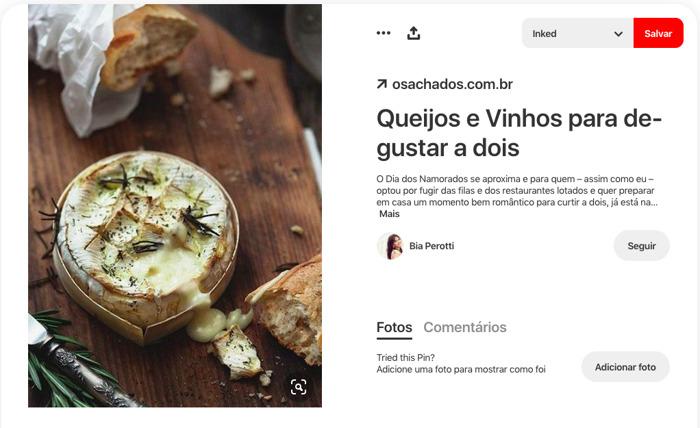 Dia dos Namorados: 10 ideias do Pinterest para um jantar de última hora em casa