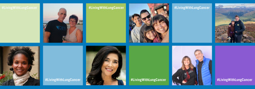 People living with lung cancer launch a social media takeover!