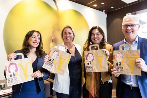 McDonald's Belgique lance la plateforme 'Les déchets, on en fait notre affaire'
