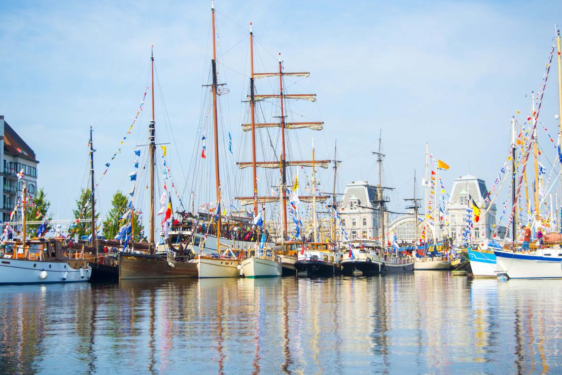 Ga aan boord van meer dan 150 schepen op Oostende voor Anker!