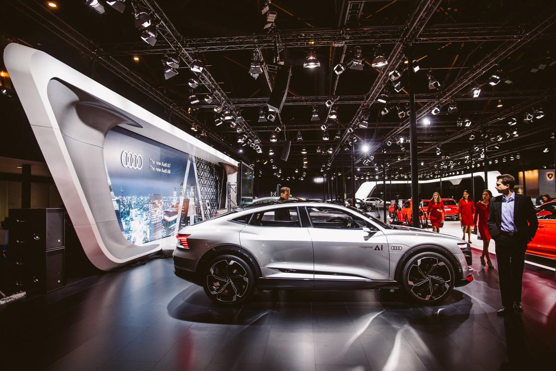 Plus de 200 préréservations pour l'Audi e-tron en Belgique