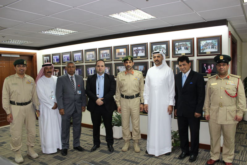 Major General Abdullah Khalifa Al Marri, Commander-in-Chief, Dubai Police and a senior delegation of officials from Dubai Police visited Emirates Group Security