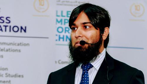 SPEAKER INTERVIEW: FAHD ALI ZAHID