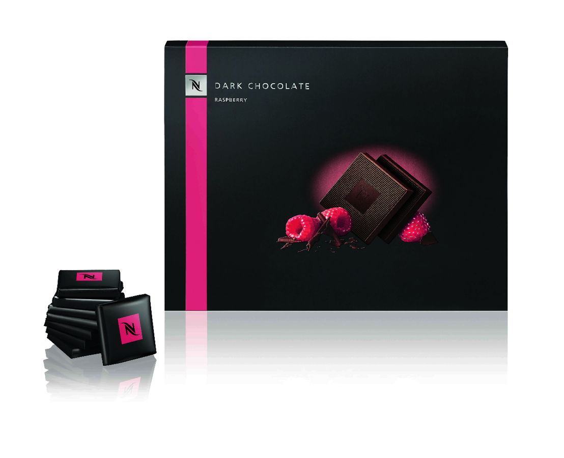 Dark Chocolate Raspberry Squares (Limited Edition) - 7,50€