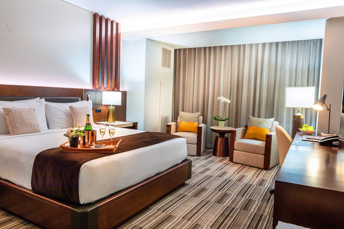 Mountain modern luxury rooms at Monarch Casino Resort Spa