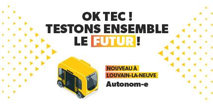 Lancement d'Autonom-e à Louvain-la-Neuve : testons ensemble le futur !