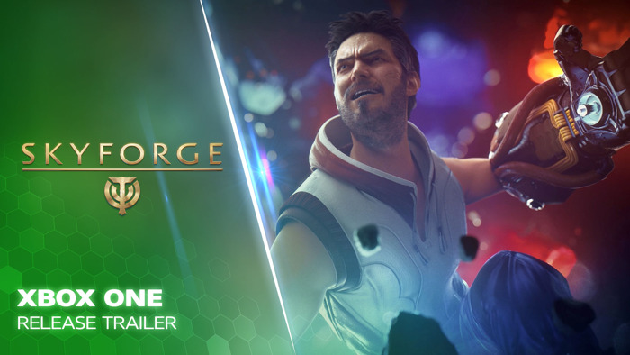 FREE-TO-PLAY MMO SKYFORGE AVAILABLE ON XBOX ONE