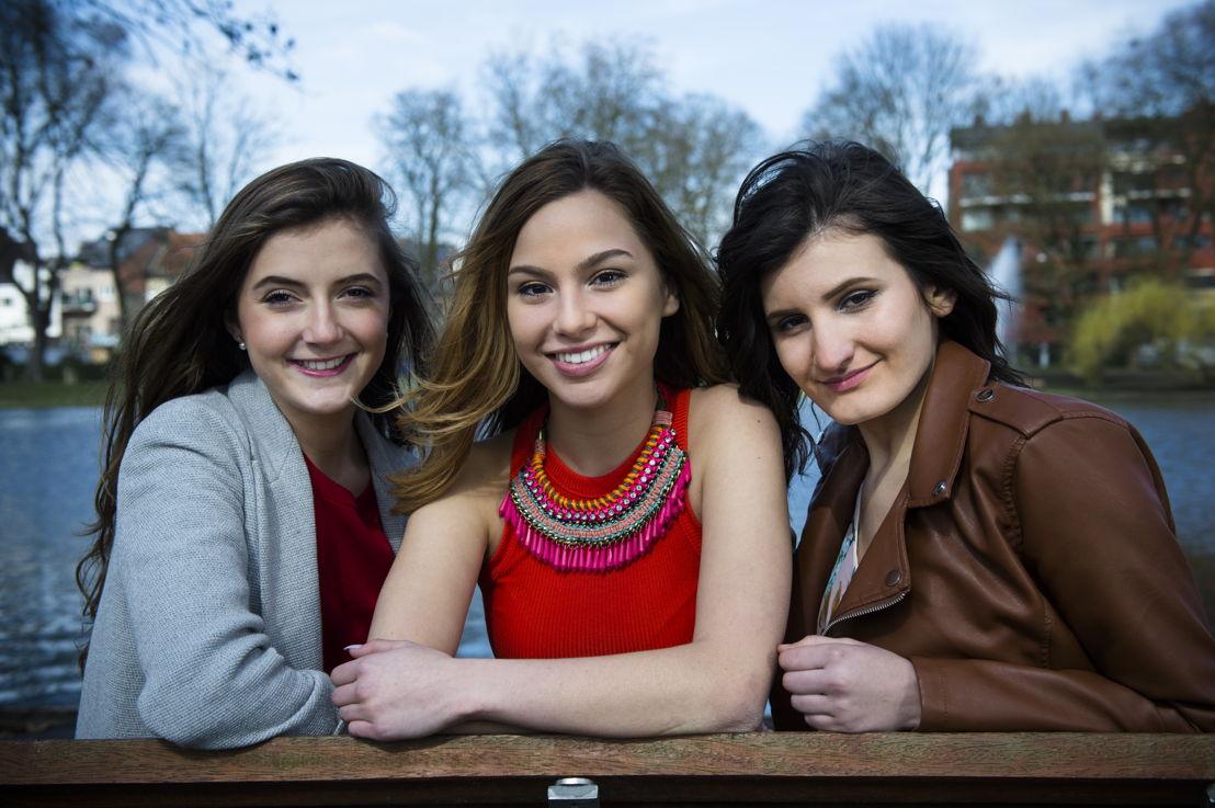 Amber, Kyra en Leyla - (c) VRT / Lies Willaert