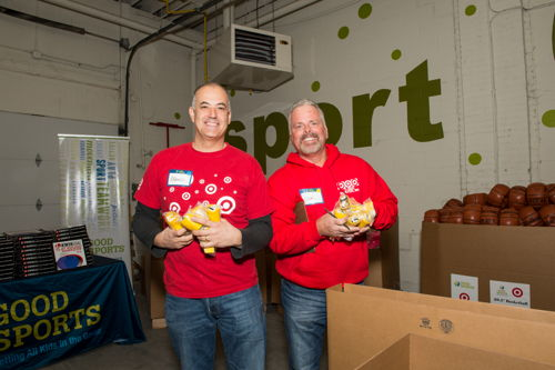 Preview: Good Sports and Target Team Up to Provide Sports Equipment for 200 Schools