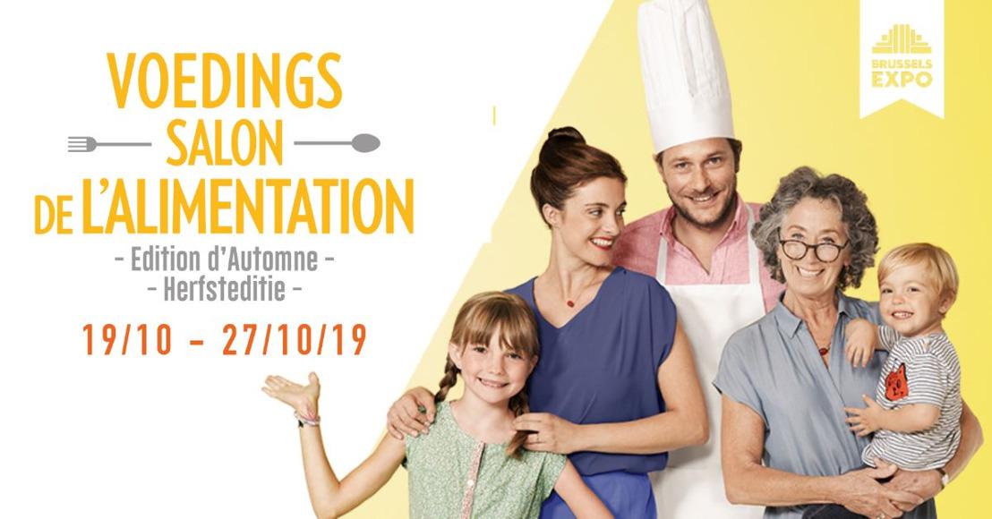 Save The Date: Het Voedingssalon opent weldra zijn deuren. Ontdek een veelzijdig culinair aanbod afgestemd op de huidige trends!