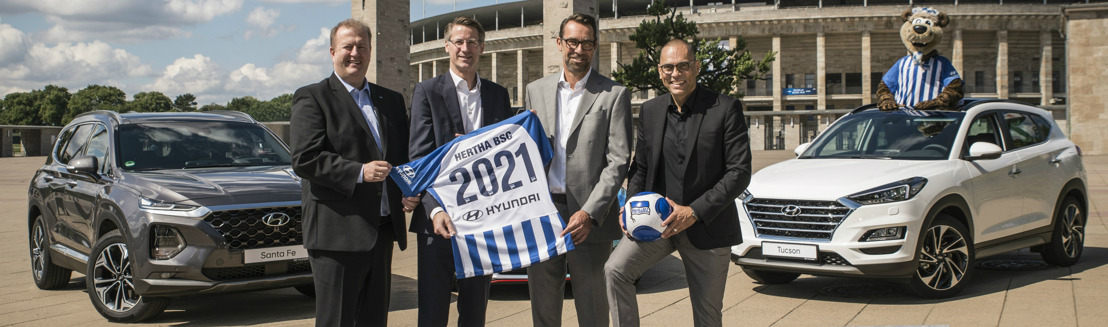 Hyundai Motor signs Hertha BSC as Global Automotive Partner in new multi-year agreement