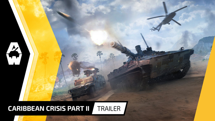 """ARMORED WARFARE """"CARIBBEAN CRISIS – PART II"""" AVAILABLE ON PC"""