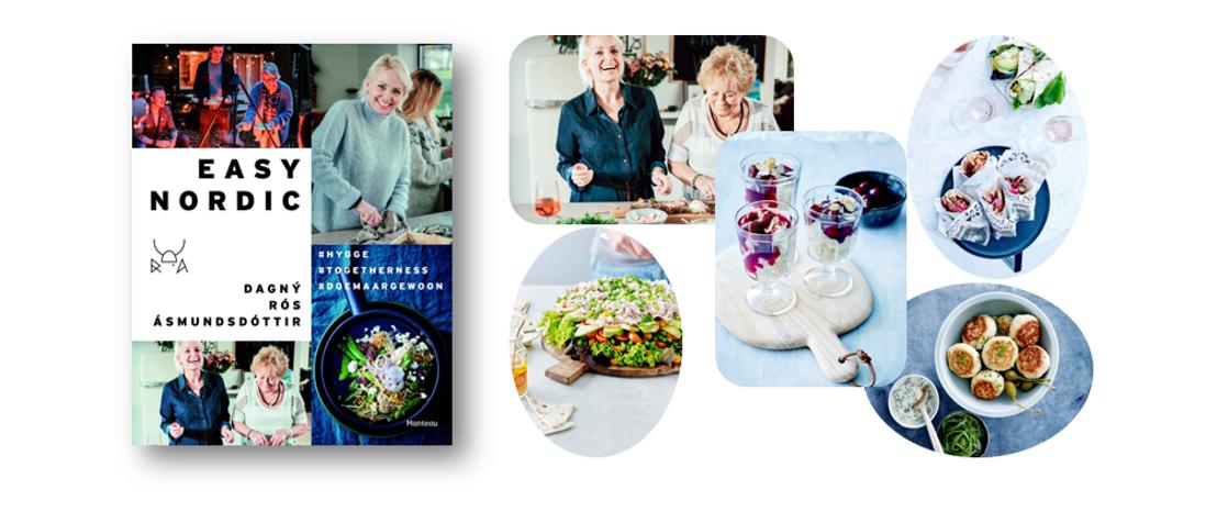 Dagný Rós Ásmundsdóttir brengt een ode aan de Scandinavische manier van leven én eten in 'Easy Nordic' - hygge voor in de keuken!