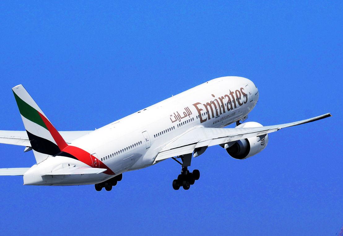 The Emirates 777-300ER