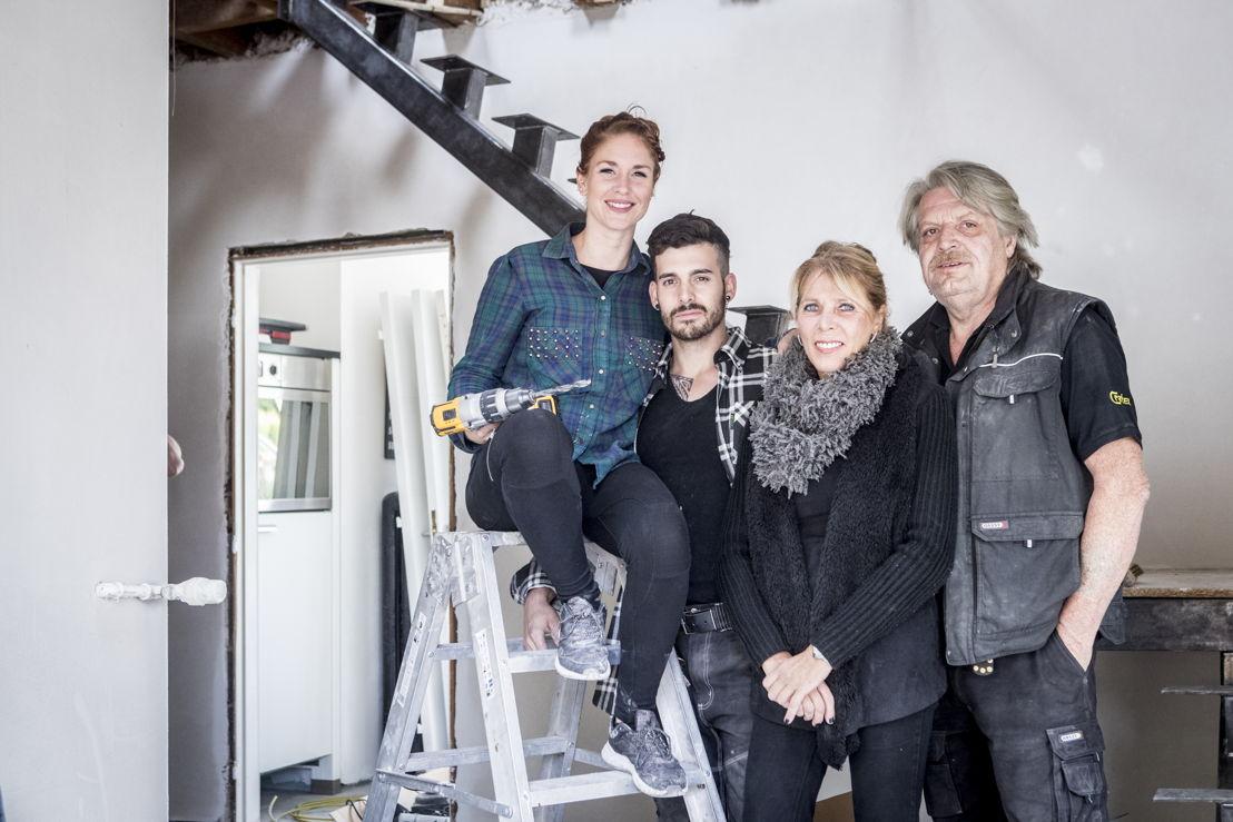 Aimée, Boy, Greetje & Toine