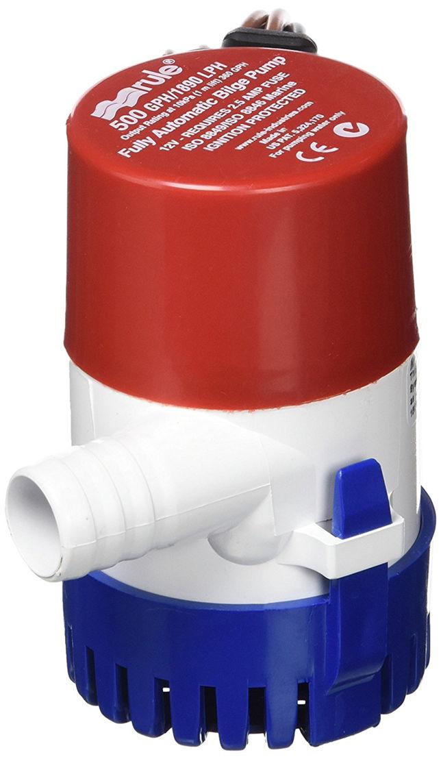 Submersible bilge pump