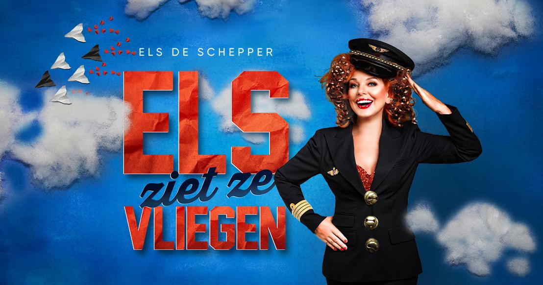 Nieuwe voorstelling 'Els de Schepper ziet ze vliegen' vanaf oktober in première