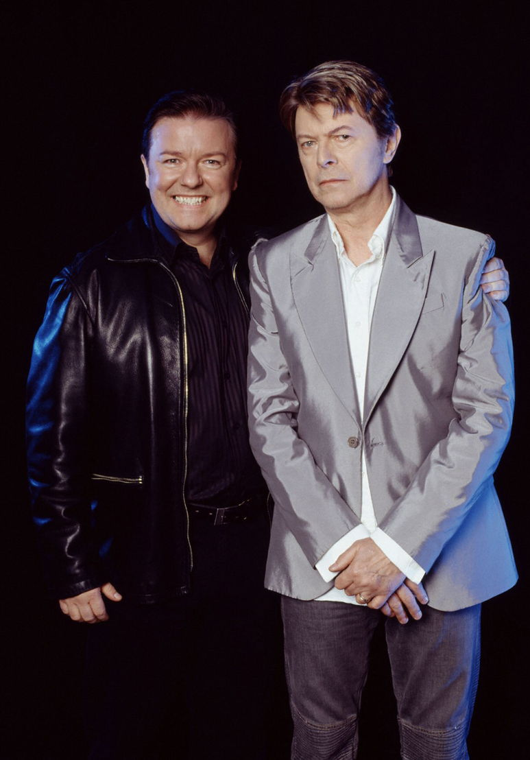 Extras - Andy (Ricky Gervais) & guest star David Bowie