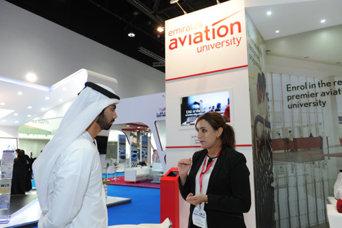 Emirates Aviation University participates in Najah 2015