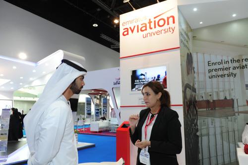 Emirates Aviation University participates in Najah 2015