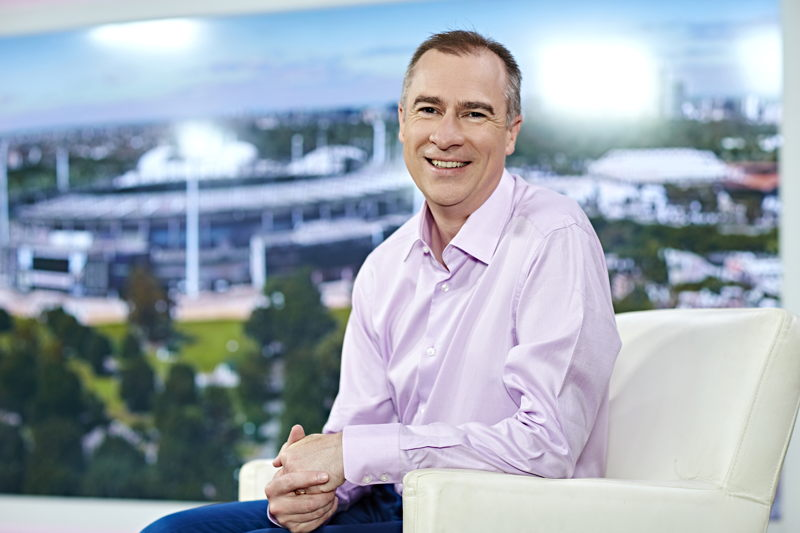 Host of Offsiders, Gerard Whateley