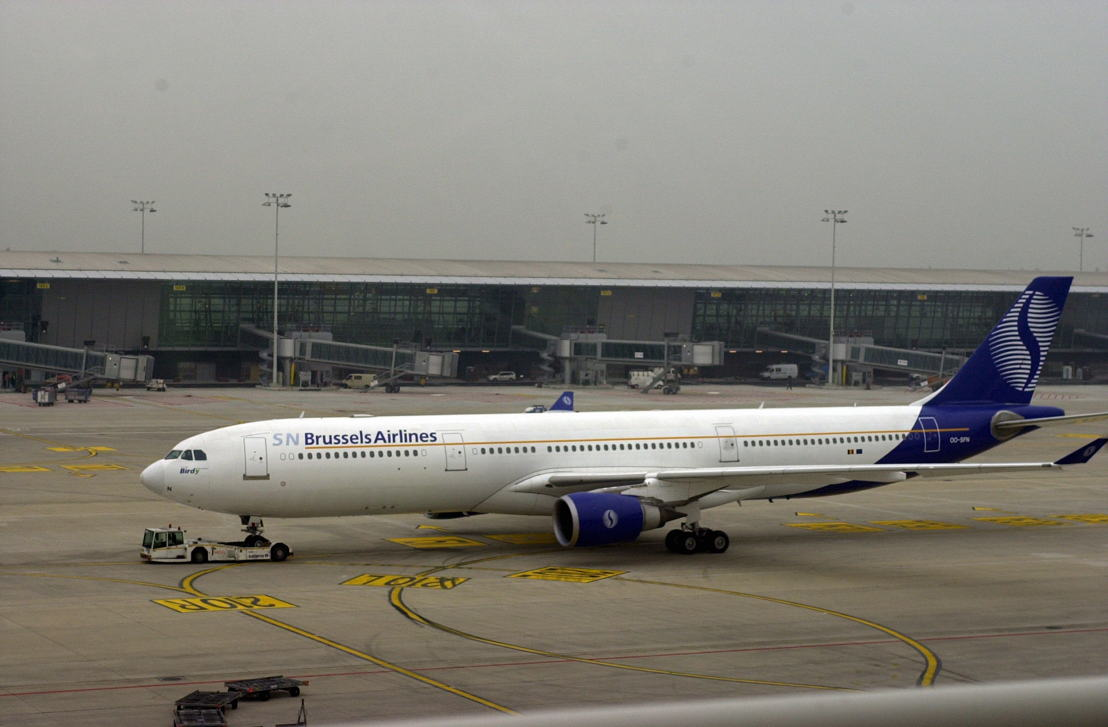 SN Brussels Airlines in 2002 at Brussels Airport