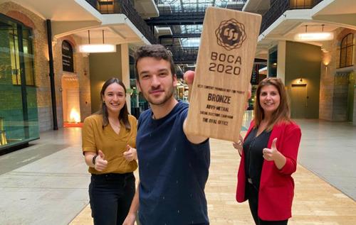 The Oval Office remporte un BOCA Award pour la campagne des élections sociales pour ABVV-Metaal