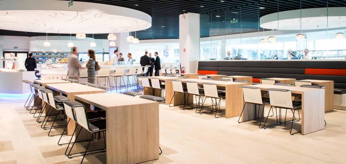 Brussels Airlines lance un concept unique pour son nouveau salon au Brussels Airport