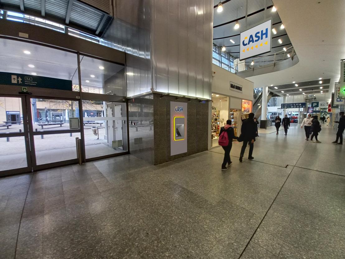 Aantal stations uitgerust met bankautomaten verdubbelt de volgende jaren