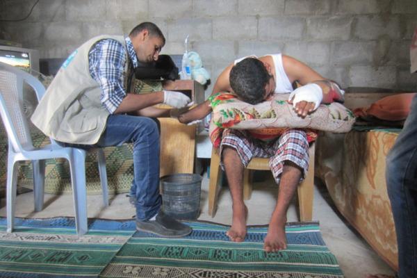 Preview: GAZA: Handicap International breidt activiteiten uit voor duizenden gewonden