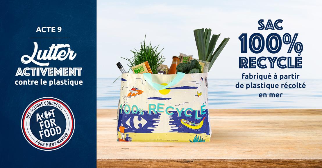 Nouveauté chez Carrefour : les ocean bags issus de déchets de mer