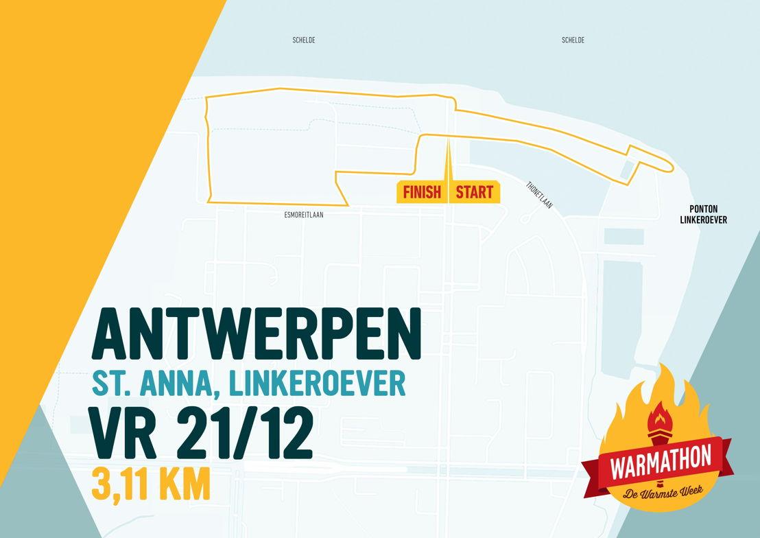 Warmathon Antwerpen © VRT