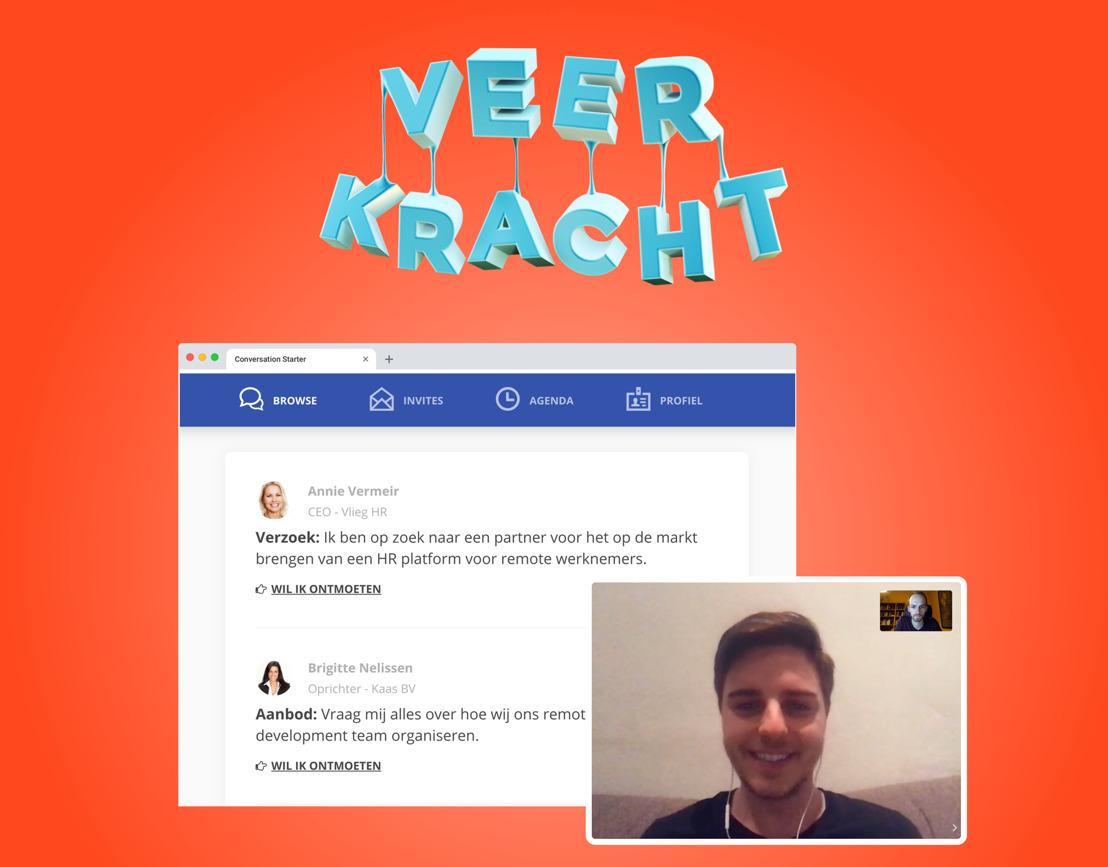 'Veerkracht': Tientallen netwerkorganisaties bundelen de krachten om online business te boosten, met Minister Alexander De Croo