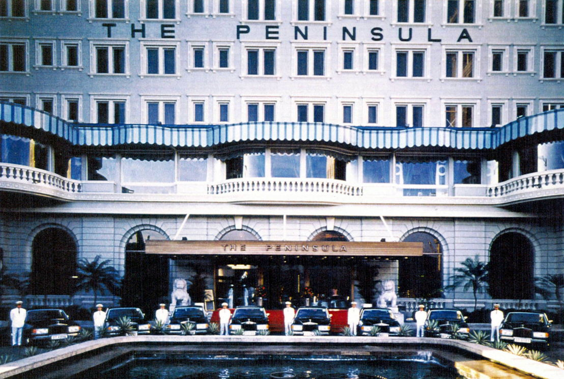 Glamour of Travel - The arrival of The Peninsula Hong Kong