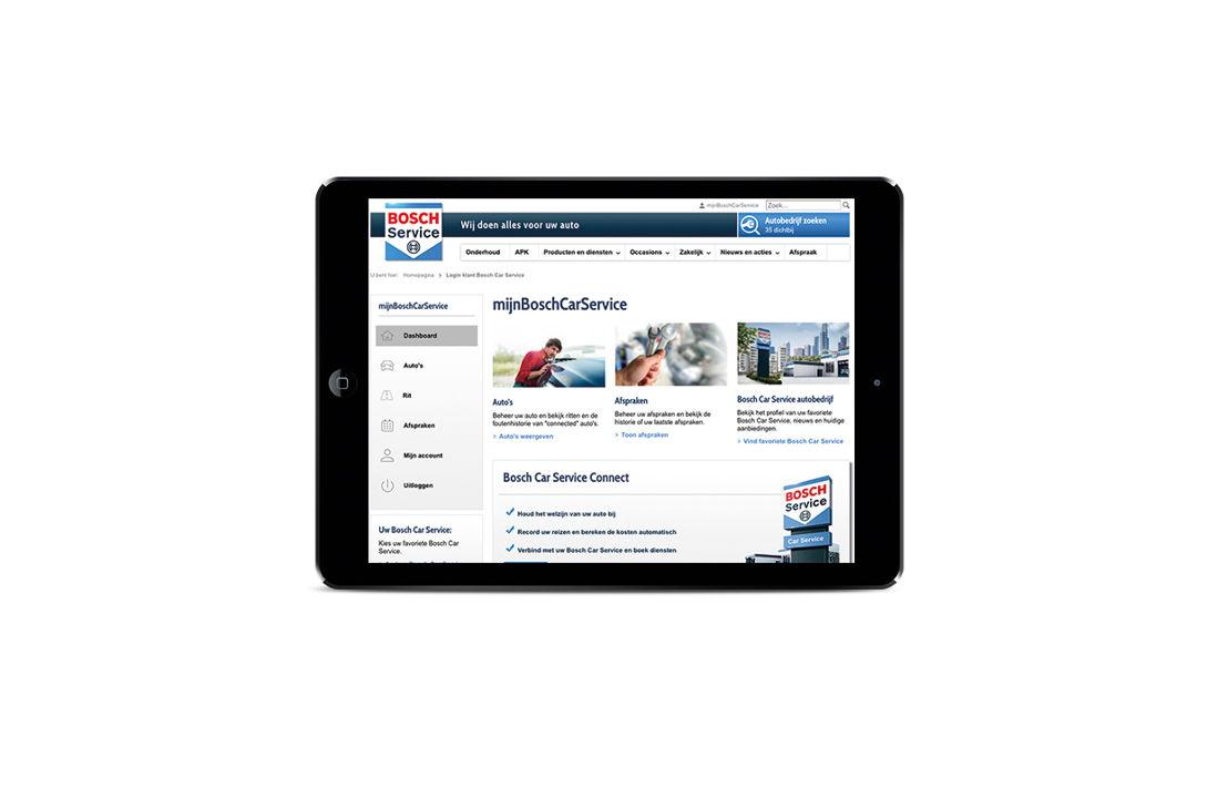 Bosch Car Service app