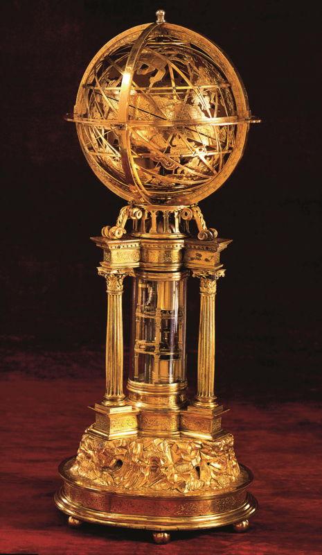 In Search of Utopia © Pierre de Fobis, Mechanical Sphere, Lyon, c.1540 –1550.  Private collection.