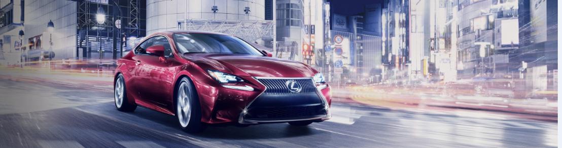 Gloednieuwe Lexus RC in wereldpremière tijdens Tokyo Motor Show