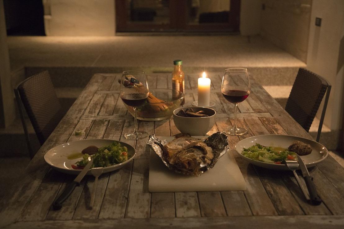 DELIVEROO tipt: een romantische avond bij je thuis