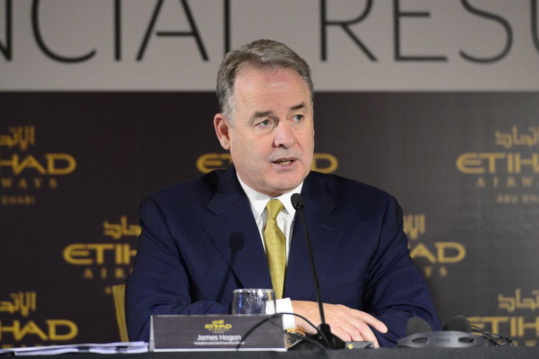 James Hogan, CEO en president van Etihad Airways.