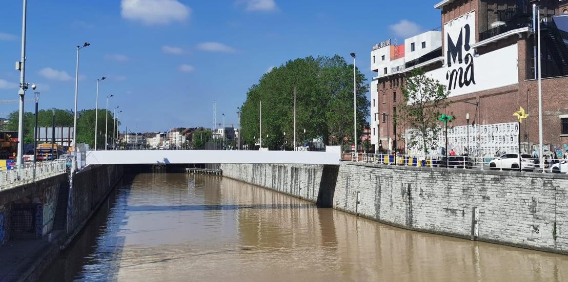 La Ville de Bruxelles et la commune de Molenbeek lancent un appel commun pour la dénomination des passerelles cyclo-piétonnes