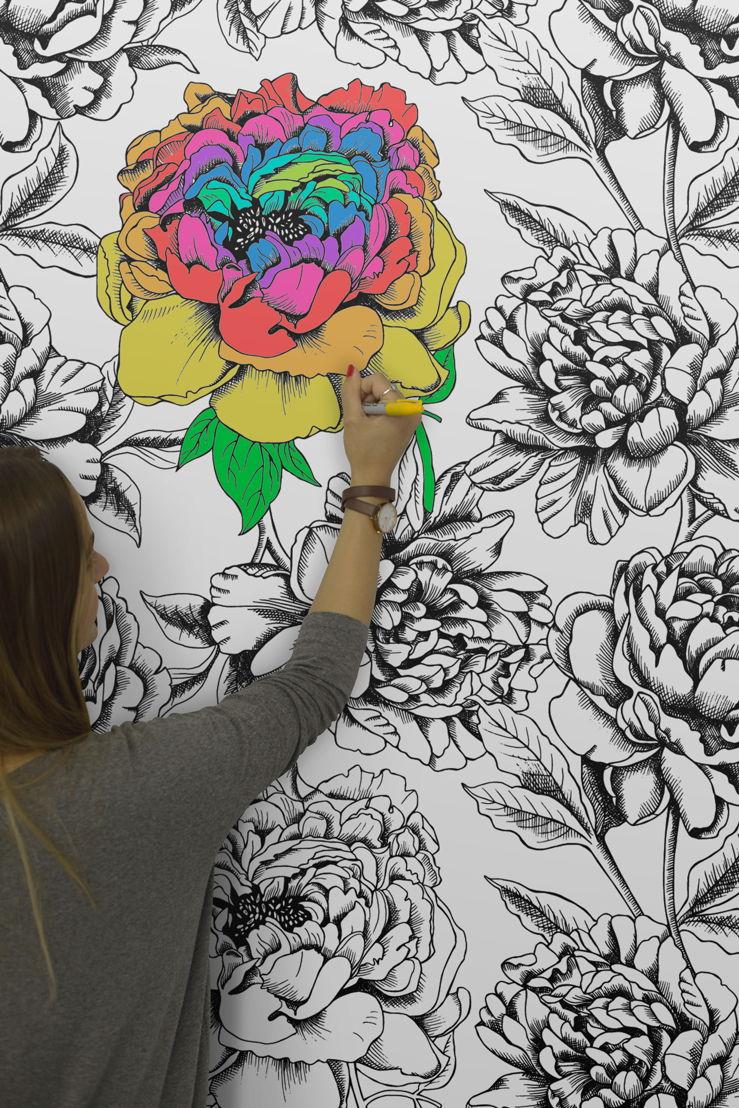 Art - Colour In Wallpaper Mural