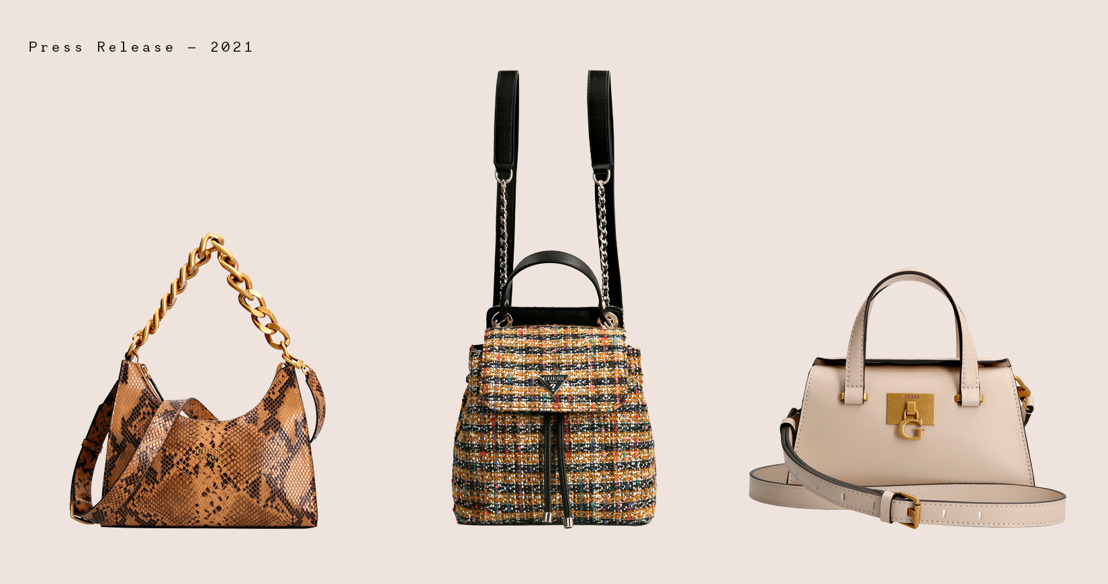 Meet the must haves of the season from the GUESS Handbags FW21 collection