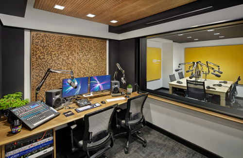 Neumann monitors for podcast innovator Stitcher