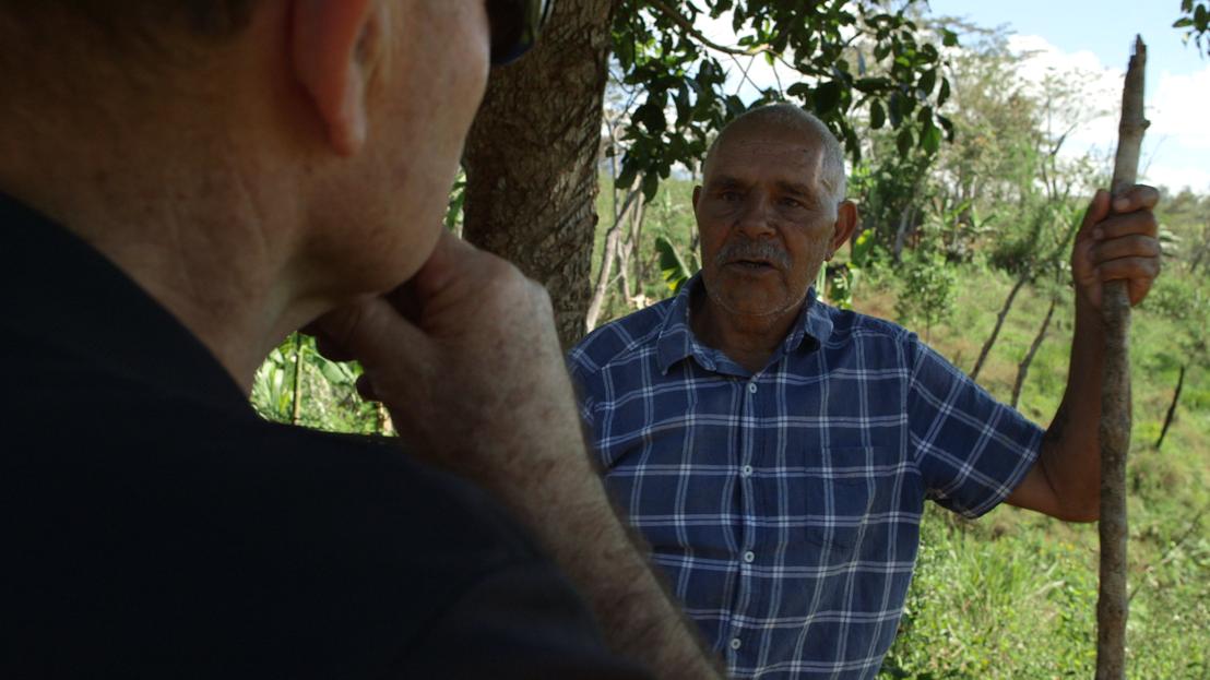 Bob Connolly talks to Joe Leahy