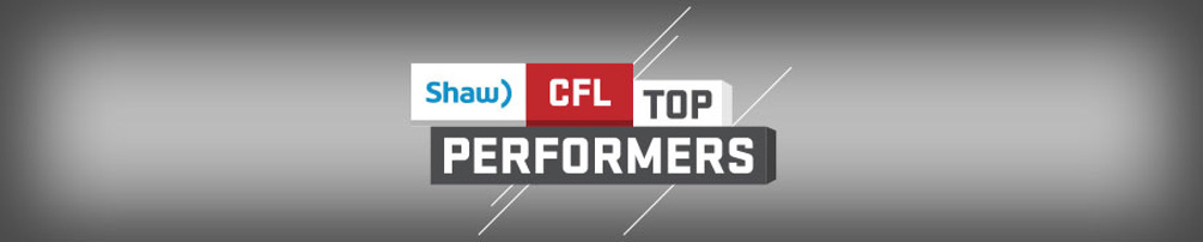 SHAW CFL TOP PERFORMERS OF WEEK 19
